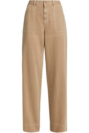 Le Superbe Brenda Washed Twill Flare Pants