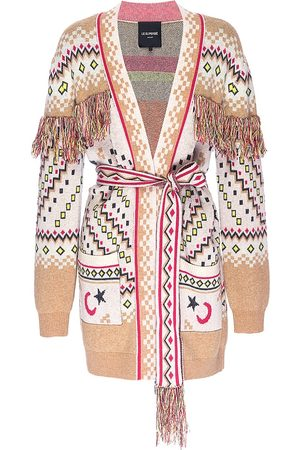 Le Superbe Meditation Wool-Cashmere Belted Cardigan