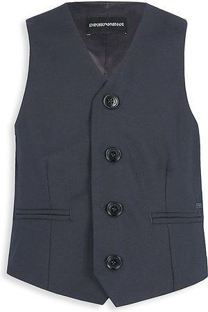 Armani Little Boy's & Boy's Tailored Vest
