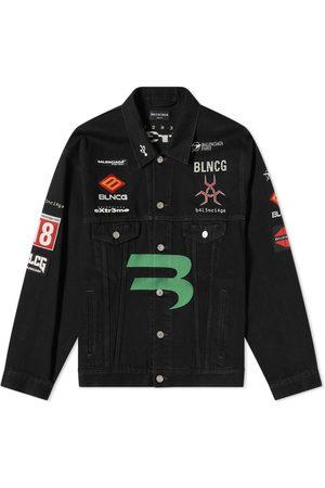 Balenciaga Gamer Logo Denim Jacket