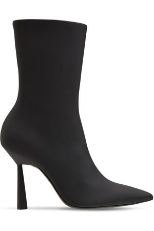 GIA 100mm Rosie 7 Rubberized Ankle Boots