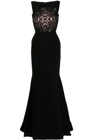 Saiid Kobeisy Women Bodycon Dresses - Sequin-embellished fitted gown