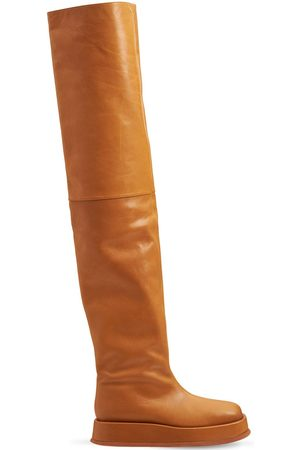 GIA 40mm Rosie 10 Faux Leather Boots