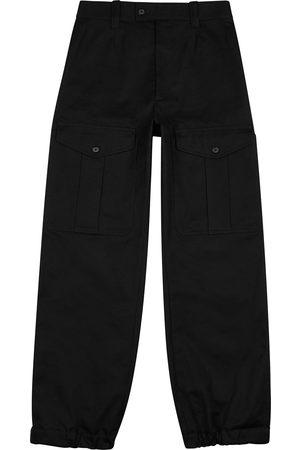 Alexander McQueen Men Cargo Pants - Cotton cargo trousers