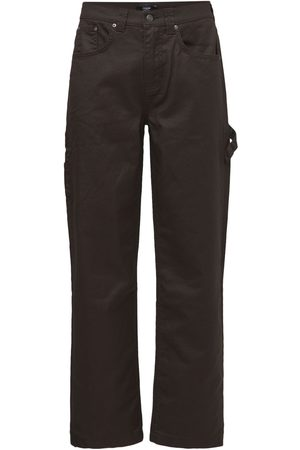 Jaded London Wax Coated Cotton Jeans