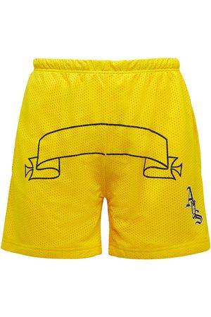 ASKYURSELF Men Shorts - Logo Team Mesh Shorts