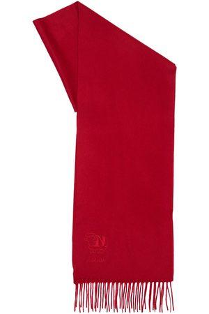 Max Mara Women Scarves - Wsdal70 Fringed Cashmere Scarf