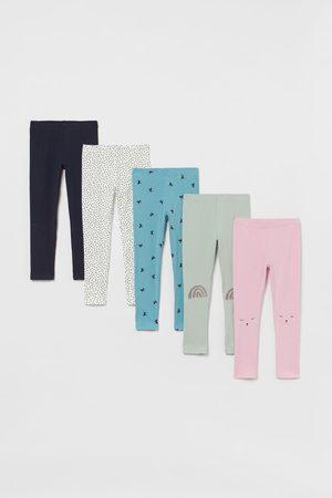 H&M Kids Jeans - 5-pack Jersey Leggings