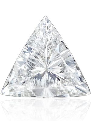 Maria Tash Women Studs - 18kt white Triangle Diamond stud earring