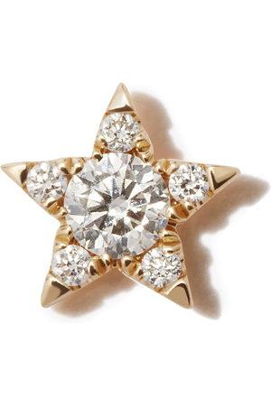 Maria Tash 18kt yellow Star stud earring