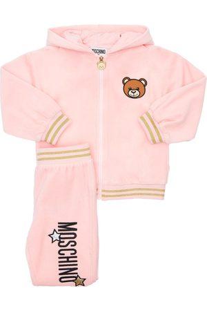 Moschino Chenille Sweatshirt Hoodie & Sweatpants