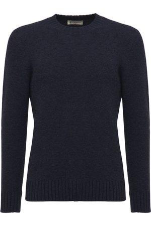Piacenza Cashmere Cashmere Blend Crewneck Knit Sweater