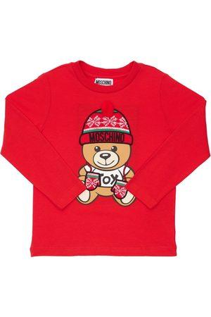 Moschino Toy Christmas Cotton Jersey T-shirt