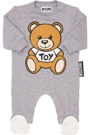 Moschino Girls T-shirts - Toy Print Cotton Romper