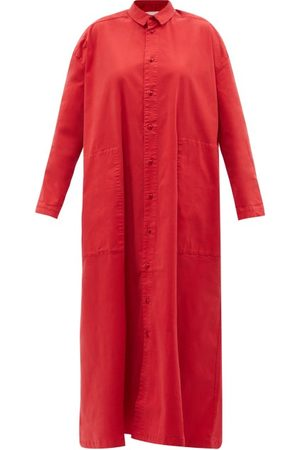 TOOGOOD Women Casual Dresses - The Draughtsman Cotton-twill Shirt Dress - Womens