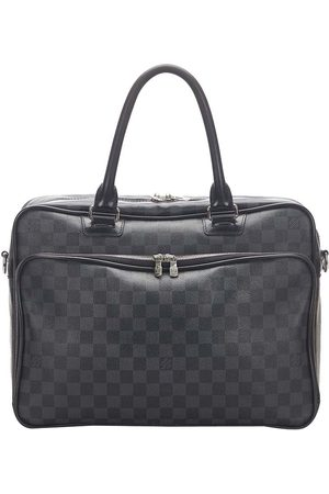 LOUIS VUITTON Damier Graphite Canvas Icare Laptop Bag