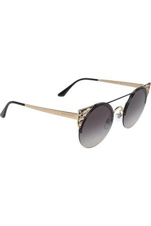 Bvlgari 6088 Gradient Round Sunglasses