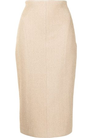 MANNING CARTELL Women Pencil Skirts - French-kiss pencil skirt - Neutrals