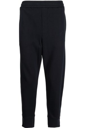 Armani Logo-embroidered jersey sweatpants