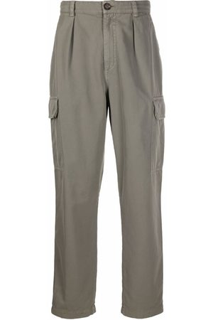 Brunello Cucinelli Men Cargo Pants - High-waisted cargo trousers