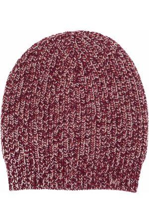 Brunello Cucinelli Men Beanies - Ribbed knitted beanie