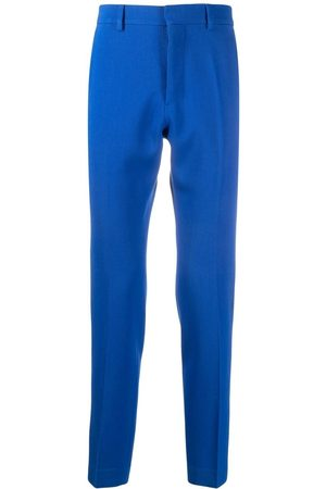 Ami Men Formal Pants - Mid-rise cigarette trousers