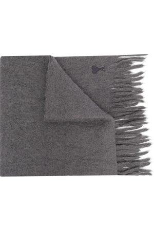 Ami Scarves - Ami de Coeur oversize scarf - Grey