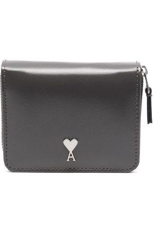 Ami Ami de Coeur compact wallet - Grey