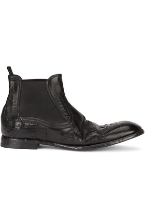 Dolce & Gabbana Men Ankle Boots - Brogue-detail ankle boots