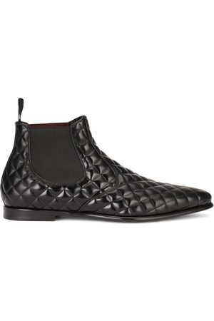 Dolce & Gabbana Diamond-quilted boots