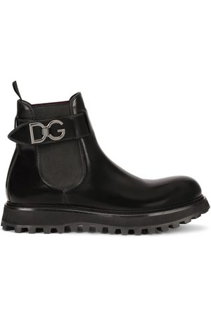 Dolce & Gabbana Men Chelsea Boots - Chelsea belted boots