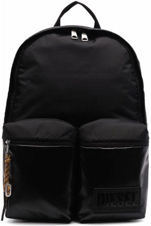 Diesel Men Rucksacks - High-shine pocket backpack