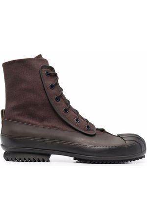 Maison Margiela Men Ankle Boots - Panelled ankle-length boots
