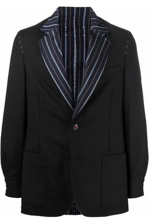 Maison Margiela Striped lapel tailored blazer