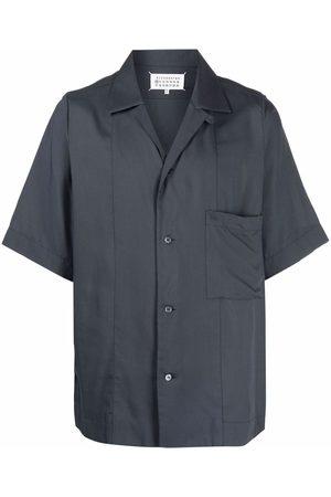Maison Margiela Short-sleeved camp collar shirt