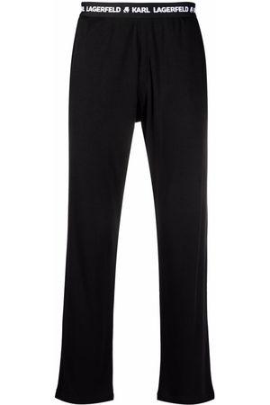 Karl Lagerfeld Men Sweatpants - Logo-tape sweatpants