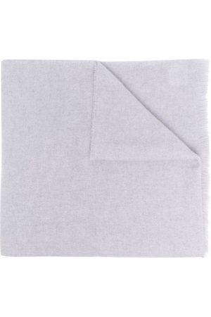 Acne Studios Scarves - Fine-knit wool scarf - Grey