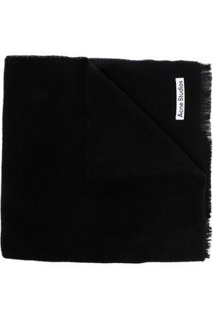 Acne Studios Fine-knit wool scarf