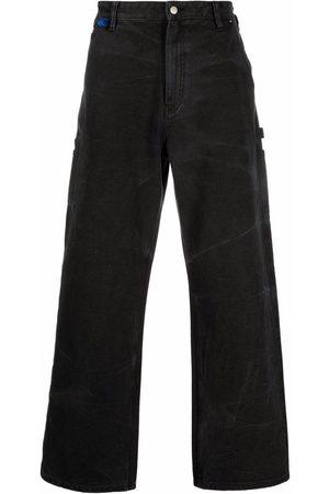 Acne Studios Straight-leg stonewashed jeans