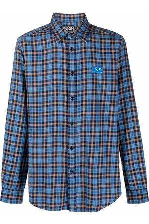 Diesel Men Shirts - Check-print shirt