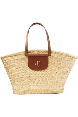 Jimmy Choo Women Tote Bags - Macy woven tote bag - Neutrals