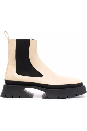 Jil Sander Two-tone Chelsea boots - Neutrals
