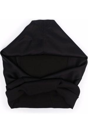 Jil Sander Tie front hooded scarf