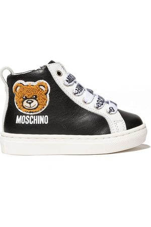 Moschino Teddy high-top sneakers