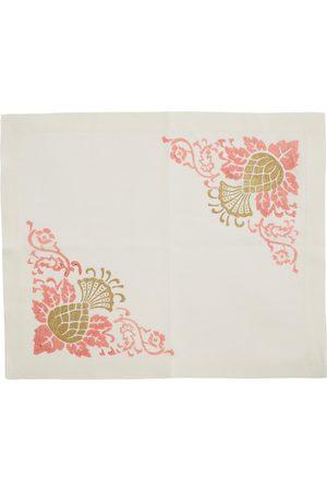 Cabana Set-of-Four Printed Linen Placemats - Color: - Material: Linen - Moda Operandi