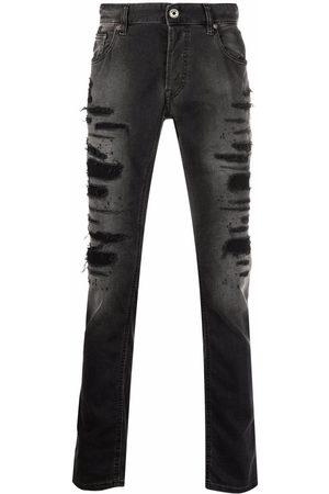 Roberto Cavalli Men Straight - Distressed straight jeans