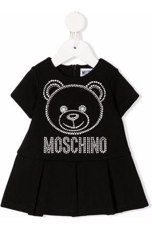 Moschino Studded logo bear dress