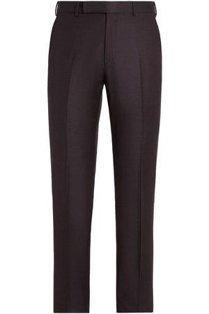 Ermenegildo Zegna Men Formal Pants - Tailored wool trousers