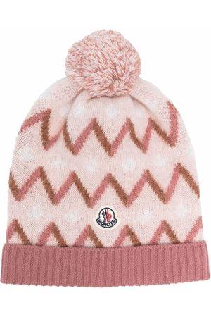 Moncler Zigzag-knit beanie