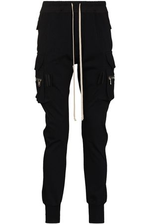 Rick Owens Men Cargo Pants - Mastodon cargo track trousers